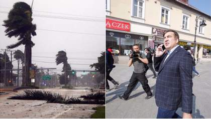 """Головні новини 10 вересня: Саакашвілі в Україні та ураган """"Ірма"""" у США"""