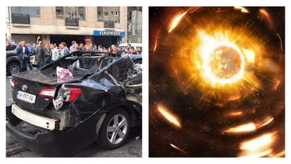 Головні новини 8 вересня: вибух і обстріл авто у Києві, неспокійне Сонце