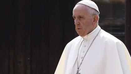"""Кожен понесе відповідальність, – Папа Франциск про наслідки урагану """"Ірма"""""""