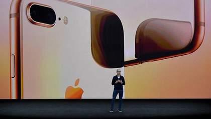 iPhone X, iPhone 8 та iPhone 8 Plus: ціни на нові смартфони від Apple