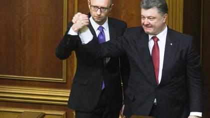 Партії Порошенка та Яценюка планують об'єднатися, – ЗМІ