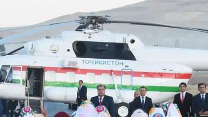 """Вертолет президента Таджикистана """"убил"""" руководителя аэропорта"""