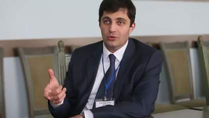 Сакварелидзе вручили уведомление о подозрении в совершении преступления: видео