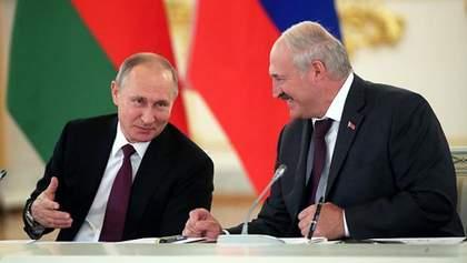 Лукашенко по-чорному пожартував про себе та Путіна