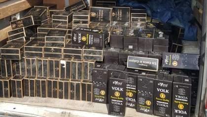 Свыше 12 тонн некачественного алкоголя изъяли правоохранители в Киевской области