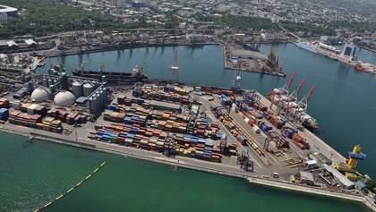 Причал Одесского порта реконструируют за миллиард гривен