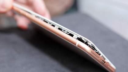 В новом iPhone 8 Plus экран вздулся во время зарядки