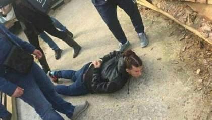 Поліція опублікувала відео, як затримували викрадачів дитини в Києві