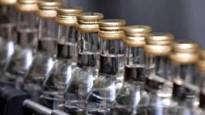 В Украине упало потребление спиртных напитков из-за оккупированных регионов