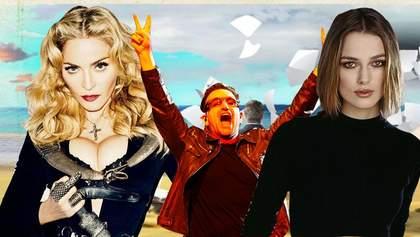 """Мадонна, Боно та Кіра Найтлі засвітилися в """"райському"""" скандалі з офшорами"""