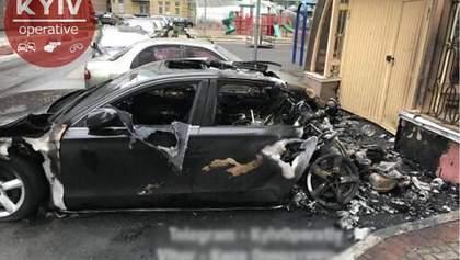 Екс-міністр інфраструктури підтвердив, що в Києві згоріло авто його водія