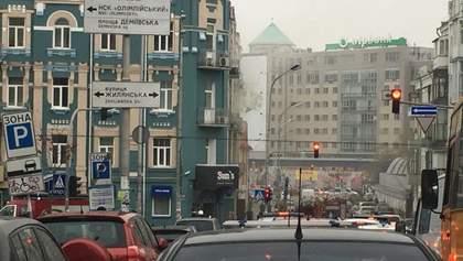 У центрі Києва горить ресторан: фото та відео