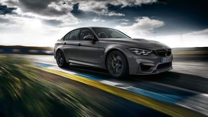 BMW M3 CS: баварцы предложили динамику вместе с комфортом
