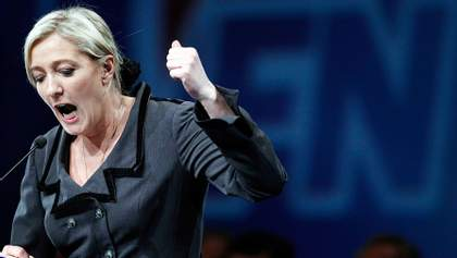 З французької соратниці Путіна Марін Ле Пен зняли депутатську недоторканність