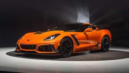 Купе Chevrolet Corvette ZR1 впервые в истории выпустили с автоматической коробкой передач