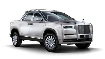 Какими могут быть пикапы от Rolls-Royce и BMW