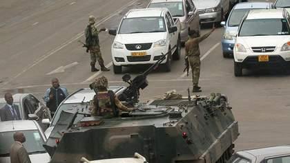 Військове повстання у Зімбабве: чому армія пішла проти чинної влади