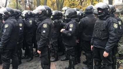 В столкновениях в Одессе пострадали 20 полицейских