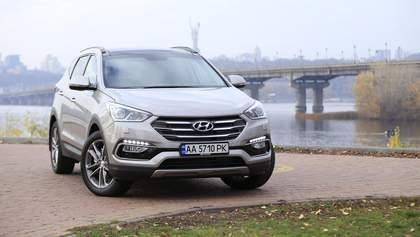 Hyundai Santa Fe: мощность в действии