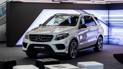 В Киеве открылся салон спортивных Mercedes-Benz от AMG