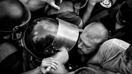 Фото столкновений в Одессе получило медаль престижного конкурса