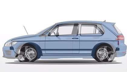 Эволюция Volkswagen Golf за 1 минуту. Видео
