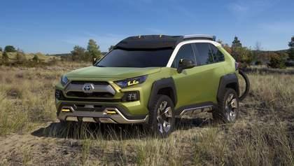 Новий концепт Toyota: інфрачервоні камери та зйомні протитуманні фари