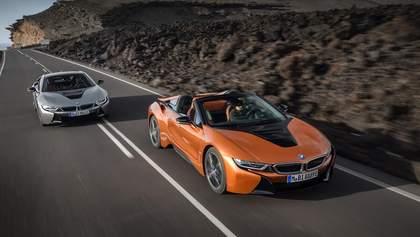Новые BMW i8 Roadster и i8 Coupe стали ближе к электромобилям