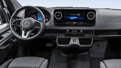 Новый Mercedes-Benz Sprinter обещает прорыв в области логистических платформ