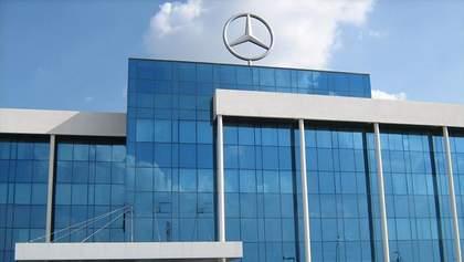 Украинское предприятие заключило выгодное соглашение с Mercedes