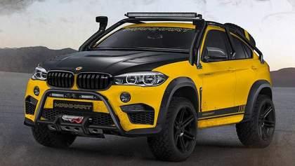 Проедет даже по нашим дорогам: презентован концепт экстремального внедорожника BMW