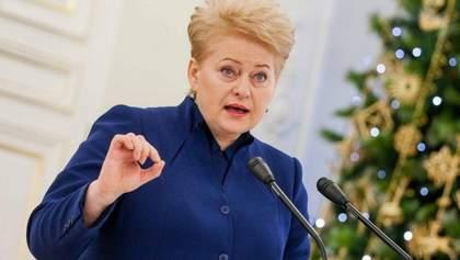 Украина должна обеспечить независимость НАБУ от политического влияния, – Грибаускайте