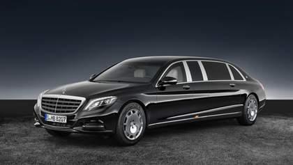 Как выглядит бронированный Mercedes за $ 1,6 млн изнутри: фото