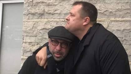 """""""Він повернувся, маленький єврей"""": Корбан прилетів з Ізраїлю до України"""