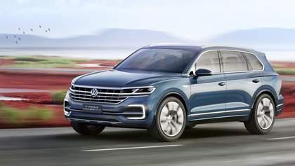 Новое поколение Volkswagen Touareg покажут в Китае