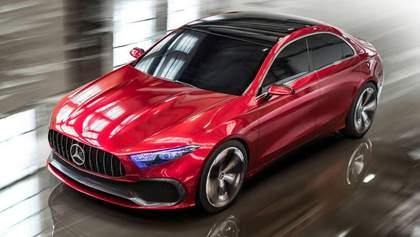 Mercedes-Benz выпустит седан A-Class