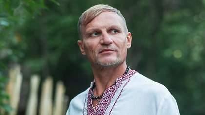Олег Скрипка показал редкое фото с дочками