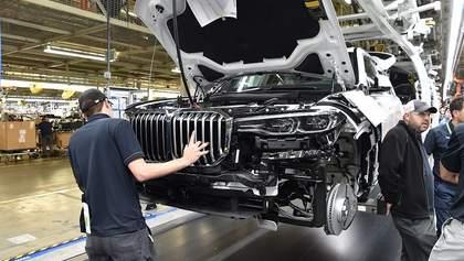Запущено производство BMW X7