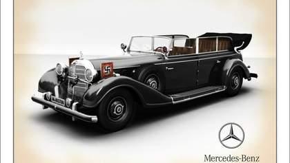 Mercedes Гитлера выставлен на продажу