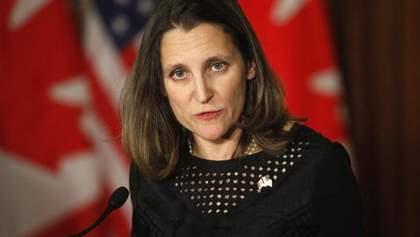 Украинский вопрос является одним из важнейших для G7, – глава МИД Канады