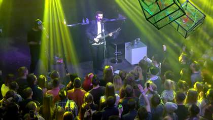 Акустический концерт Noize MC в Киеве: эксклюзивный видеорепортаж