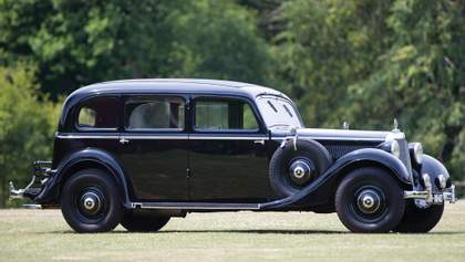 Mercedes-Benz Pullman 1937 года распилили и сдали на металлолом