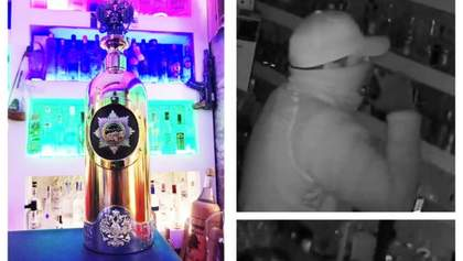 У Данії викрадено російську пляшку горілки вартістю більше мільйона євро