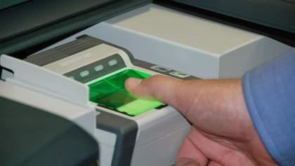 Які перші результати роботи системи біометричного контролю на кордоні з Україною