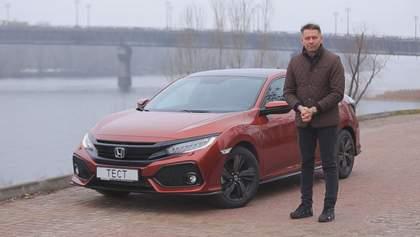 Перший український тест-драйв Honda Civic у кузові хетчбек