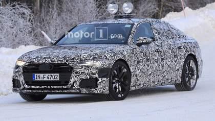 Шпигунські фото нової Audi A6