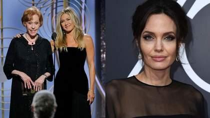 Анджелина Джоли откровенно проигнорировала речь Дженнифер Энистон: фото