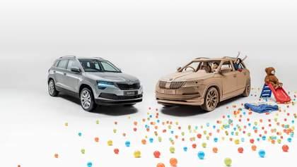 Skoda представила автомобиль для детей