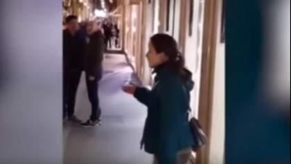 Украинка спела оперу посреди улицы в Риме: итальянцы в восторге