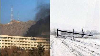 Головні новини 21 січня: теракт із загиблими українцями в Кабулі та негода в Україні